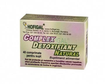 Complex detoxifiant natural 40 compr.